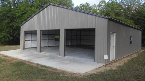 40 X 50 Steel Building http://sturdi.us/